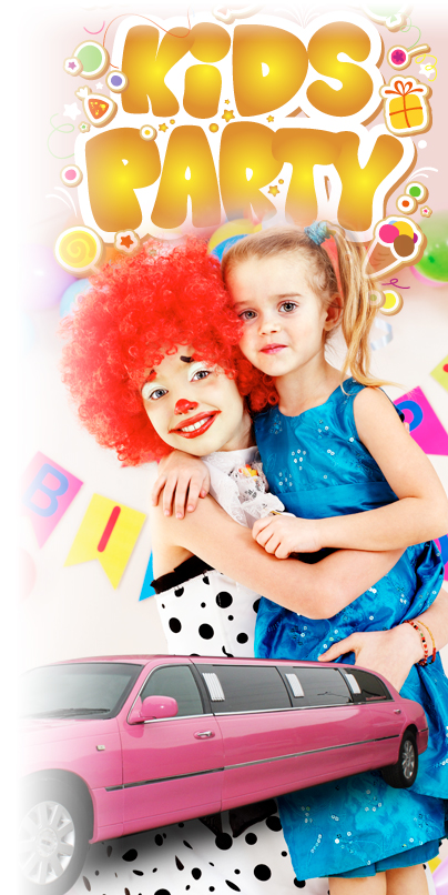 Limo Hire for Children\'s Parties, Children\'s Party Limo Hire in ...